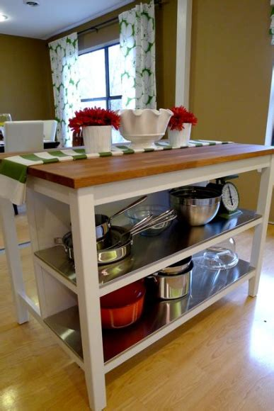 kitchen island with shelves remodelaholic new ikea kitchen island