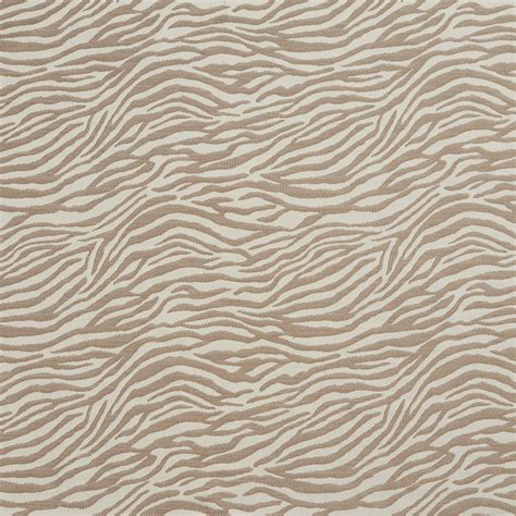 zebra fabric for upholstery a590 taupe zebra woven textured upholstery fabric