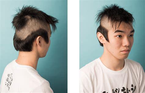 coupe de cheveux samourai coiffure japonaise homme coiffure 2019