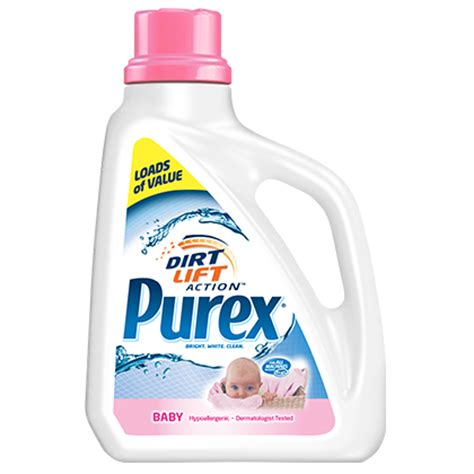 baby laundry purex baby laundry detergent dermatologist tested