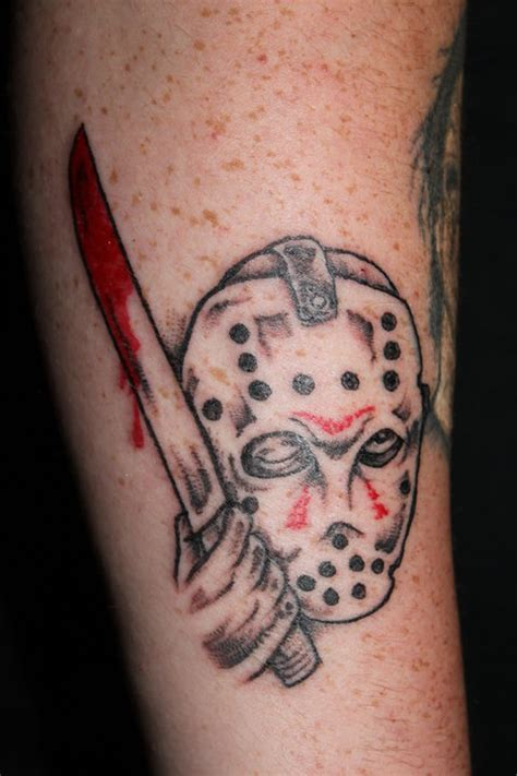 jason voorhees tattoos horror designs collections
