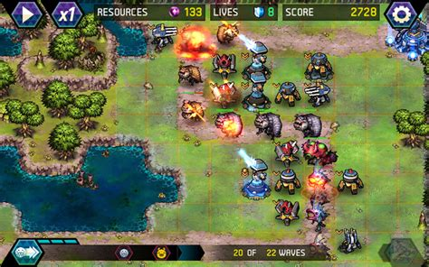 tower defense android tower defense infinite war android apps on play