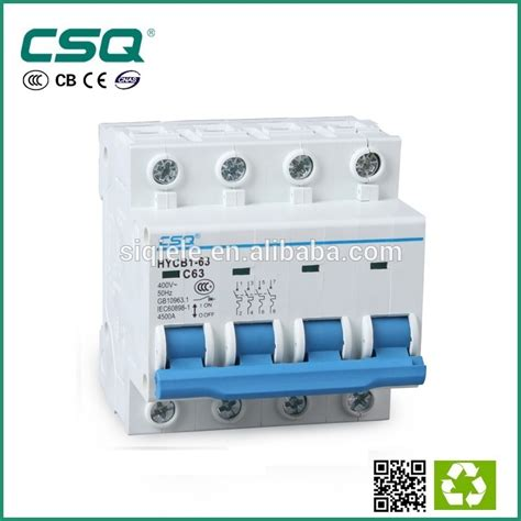 4 pole 3 phase automatic changeover change switch