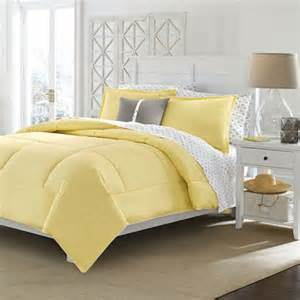 size cotton comforter in solid yellow machine