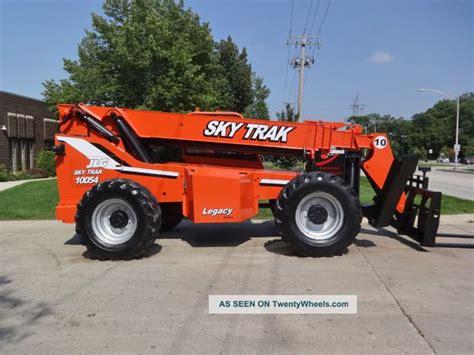 Carry Box Wheels 40 000 2002 skytrak 10054 10000lb pneumatic telehandler diesel