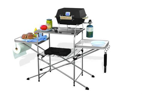 portable folding grilling table cing bbq cooking