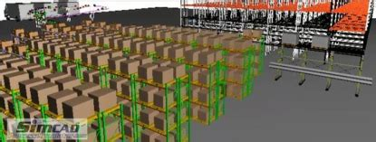 warehouse layout optimisation warehouse simulation 3d dynamic simulation software for
