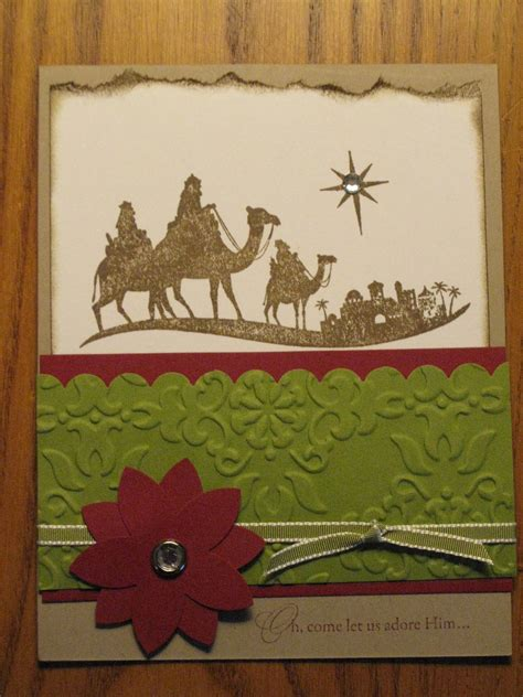 Handmade Religious Cards - christian handmade card bethlehem by stinmemories