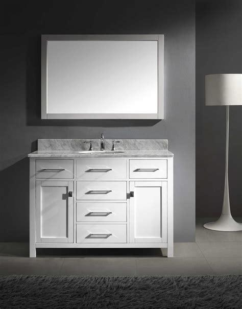 Bathroom Vanity Cabinet Sets Virtu Usa Caroline 48 Quot Single Bathroom Vanity Cabinet Set