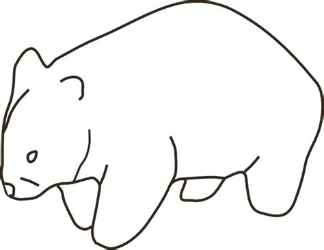 printable wombat mask wombat mask coloring pages