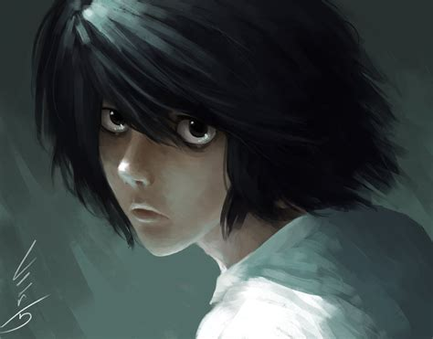 L Drawing Pictures by Lawliet Wip By Leer5 On Deviantart