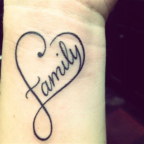 pinterest tattoo family women tattoos heart family tattoo infinity heart
