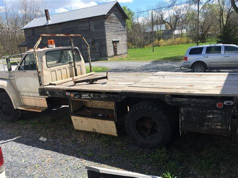 flatbed truck beds for sale 1986 ford f750 flatbed for sale