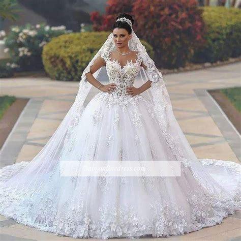 Brautkleider Prinzessin 2018 by Luxury Wei 223 E Brautkleider Spitze A Line Tr 228 Ger