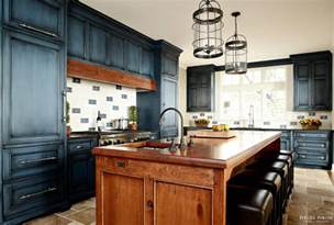 interior design ideas intended for navy blue kitchen cabinets painted cabi fauxpaint red oak floors lovely