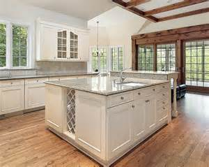 Kitchen Cabinets And Islands kitchen includes a large rectangular kitchen island with the same
