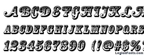 country western swing title font   legionfonts