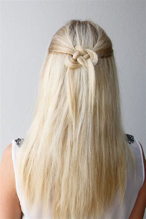knotted half up half down hairstyles 2016 creative hair knots for teens haircuts hairstyles