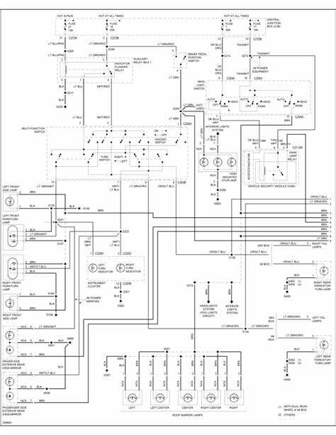 trailer wiring diagrams lighting wire diagrams 2003 impala