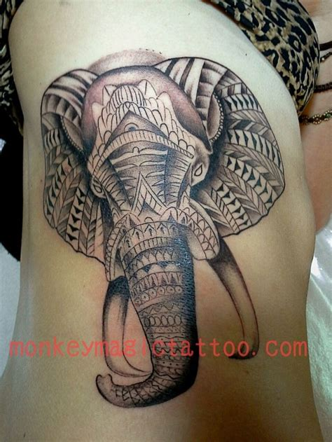 elephant tattoo pinterest best 25 tribal elephant tattoos ideas on