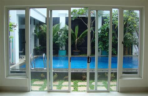 Kusen Pintu Alumunium aneka model pintu rumah terbaik bahan aluminium rumah