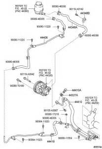 toyota avalon power steering wiring auto parts diagrams
