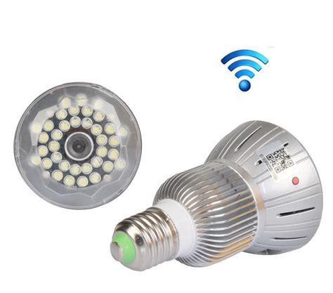 Bulb L Led Hd 1080p Wifi Kamera Pengintai Lu B hd1080p wifi e27 bulb led l cctv security camcorder nanny dvr ebay