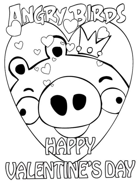 angry birds valentine coloring pages how to draw angry s