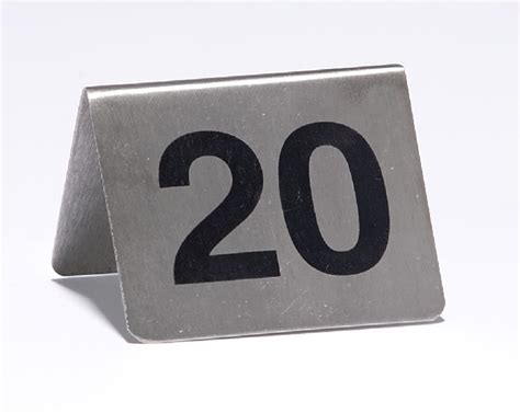 restaurant table number stands dining table numbers and stands hotel supplies