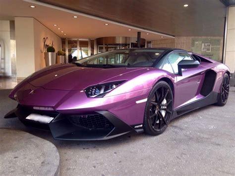 lamborghini aventador edition purple purple aventador 50th anniversary spotted in geneva