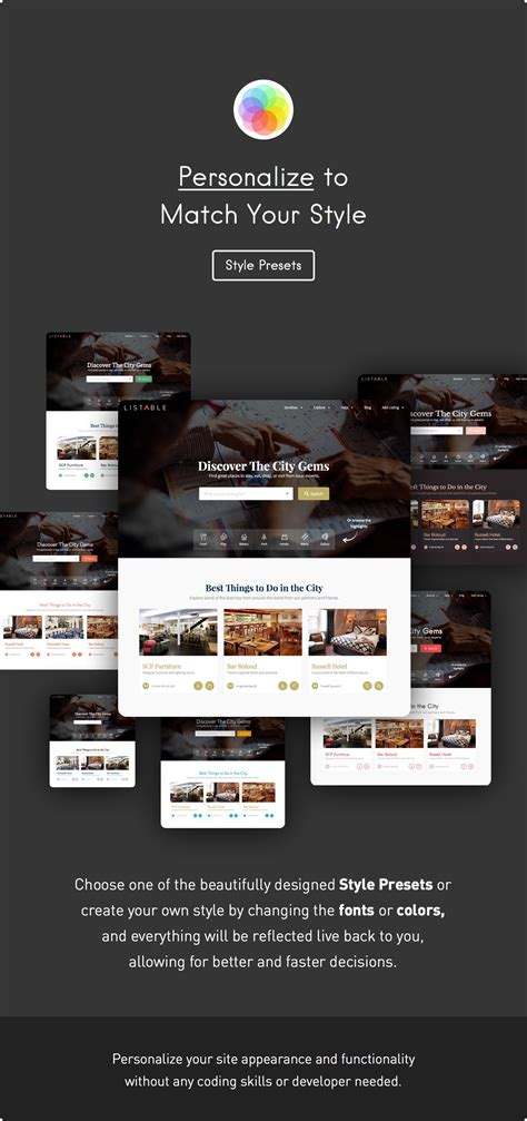 themeforest listable listable a friendly directory wordpress theme