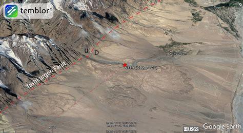 earthquake in china m 5 4 earthquake along the tashkurgan fault takes lives in