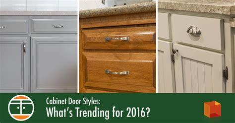 great kitchen cabinet door styles 2016 cabinet door styles what s trending for 2016