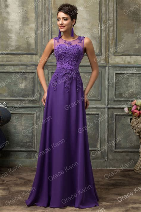 Abra Maxi Dress Purple Kklisse 1 grace karin sale pink purple royal blue black