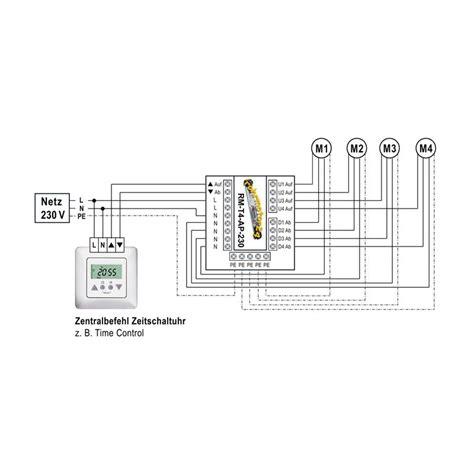 jalousie trennrelais schaltplan relais trennrelais f 252 r bis zu 4 antrieben o