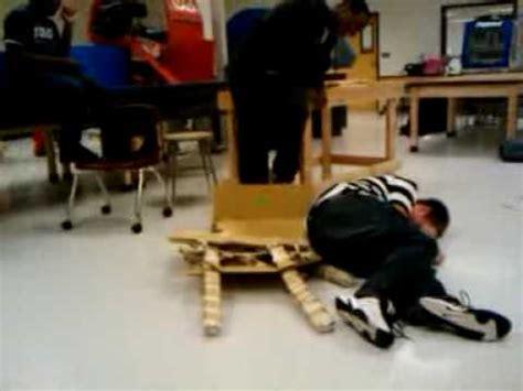 Chair Fail by Cardboard Chair Epic Fail