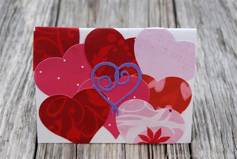 Handmade Valentines Day Cards - valentine s day cards sew woodsy