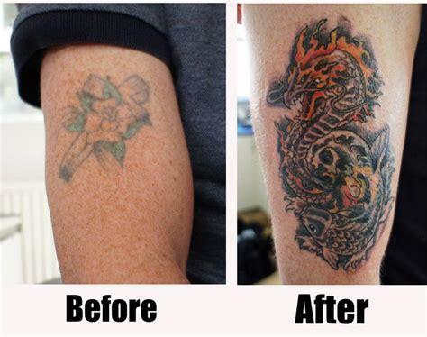 tattoo name cover ups before and after 19 best before after cover up tattoo designs name images