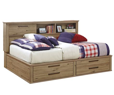 storage full bed full size bed with storage nexera full size bed with