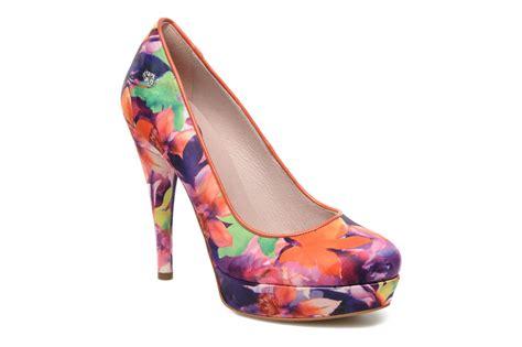 multicolor high heels fornarina demy printed high heels in multicolor at sarenza