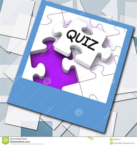 meaning challenge quiz photo means or challenge questions stock