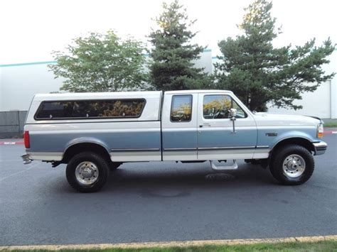 1996 Ford F 250 XLT Super Cab / 4X4 / Long Bed / Matching