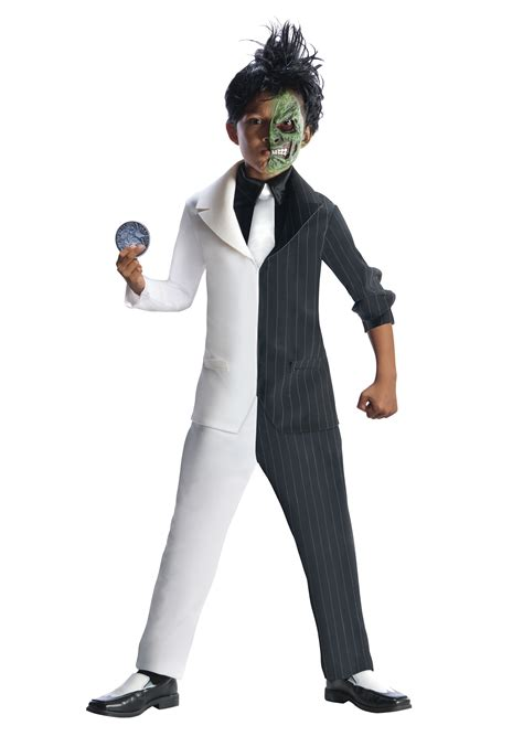 boys two face costume