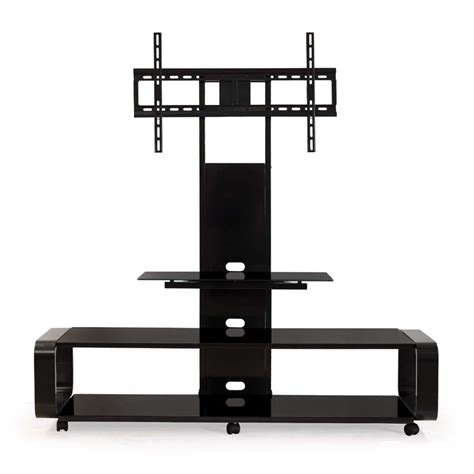 80 Inch Tv Stand With Mount by Transdeco 3 In 1 Tv Stand With Mounting System For 35 To