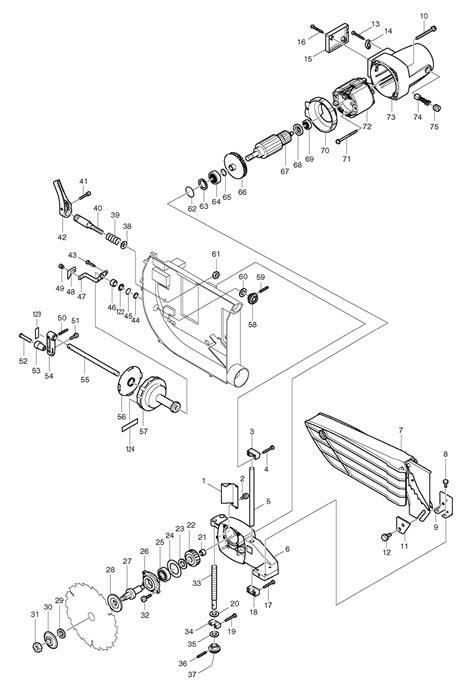 makita table saw parts makita 2703 switch wiring diagram 33 wiring diagram