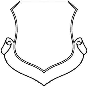 blank coat of arms shield designs clipart best