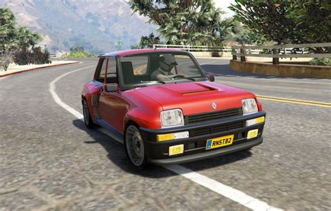 renault 5 tuning gta 5 renault 5 turbo rally 2in1 add on tuning