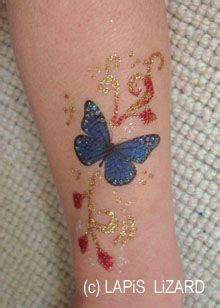permanent glitter tattoos 26 best gold permanent ink butterfly images on