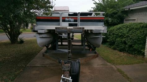 used pontoon boat for sale dallas sun tracker 20ft pontoon boat 650 mercury outboard motor