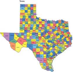 Tx Is In What County Powerpoint Map Counties